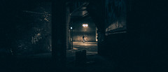 . (the pointless d.ude) Tags: dark darkness london loneliness light shadow street mood movie cinema ambiant anamorphic atmosphere