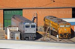 Caldero Rosco. (Mariano Alvaro) Tags: 319 250 renfe rosco locomotora caldero tcr madrid villaverde