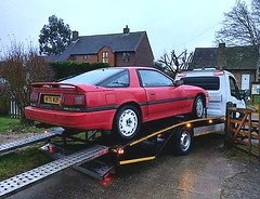 1990 TOYOTA SUPRA 3.0i TURBO (shagracer) Tags: turbo mkiii mk3 rescue tow truck recovery 30i h170wuf breakdown