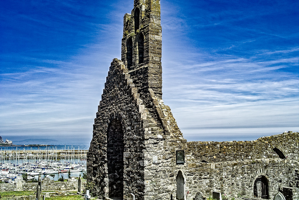 BACK IN JANUARY 2009 I VISITED THE OLD GRAVEYARD IN HOWTH [I HAD TO LEAVE BECAUSE I WAS ATTACKED BY GULLS]-135877