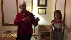 Tai Chi with Grandma Video (Jaimee and Brian) Tags: illinois mom iphone avalon tenyears video