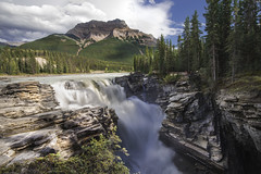 Athabasca Falls - Icefields Parkway, Alberta, Canada (jack.mihlenstedt) Tags: canadianrockies waterfall alberta rockies canada banfff jasper ice fields parkway water landscape nikon d750 1635mm nikon1635mm nikond750 filter athabasca falls