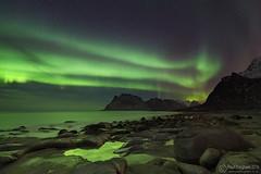 Pretty Green (Paul Forgham) Tags: uttakleiv leknes norway aurora auroraborealis northernlights lofoten seascape paulforgham nightphotography prettygreen weller