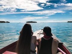 Looking for our future together. (E S M Photography) Tags: family familia fun blue sea vacation vacaciones caribe caribbean boat couple sun