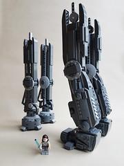 UCS AT-M6 LEGO work in progress... (kozikyo86) Tags: lego star wars atm6 first order 75189 moc mod ucs last jedi force awakens walker gorilla