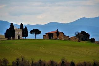 Val d'Orcia - La Cappella di Vitaleta - Sito UNESCO