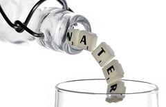 7points4Water (tobias-eger) Tags: macromondays macro bottle object hightkey water letters makro wasser objekt flasche weiss white abstract abstrakt inabottle