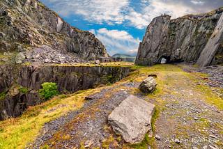Dinorwic Slate Quarry Snowdonia