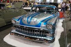 1954 Chevrolet (bballchico) Tags: 1954 chevrolet custom flames rogermiret gnrs2018 carshow chevrolet210 fullcustom