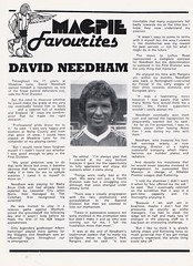 Notts County vs Middlesbrough - 1984 - Page 17 (The Sky Strikers) Tags: notts county middlesbrough fa cup road to wembley magpie official matchday magazine 40p meadow lane