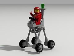 QUASAR (David Roberts 01341) Tags: lego classicspace minifigure rover febrovery scifi ldd povray