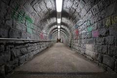 St. Gallen - Tunnelweg (Kecko) Tags: 2018 kecko switzerland swiss suisse svizzera schweiz ostschweiz stgallen sg europe bahnhof station sbb bahn railway railroad tunnelweg unterführung underpass pedestrian tunnel walkway fusweg swissphoto geotagged geo:lat=47413940 geo:lon=9354320
