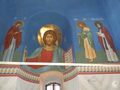 Христос Вседержитель с предстоящими