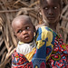 Children near the Fulani settlement