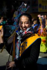LunarNewYear2018-2(NY) (bigbuddy1988) Tags: people portrait photography nyc usa digital new art city festival parade nikon d800 smile woman newyork lunarnewyear asia