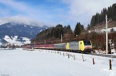 189 903 mit D 13187 bei Altenmarkt (Dennis Kraus) Tags: lokomotion lomo altenmarkt ennstal schladming turnuszug skizug 13187 euroexpress pongau