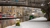 Hebden Bridge (Jay-Aitch) Tags: hebden bridge coffee lounge canal yorkshire snow cold freeze boat barge winter wintry