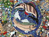 The mighty salmon (edenseekr) Tags: mosaic salmon leavenworth washingtonstate
