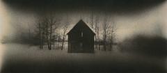 House of the Lonely Souls (micalngelo) Tags: analog filmphoto lithprint lithprocess alternativephotography alternativeprocess moerschlith montana house pano panoramic holga holgapan trixfilm