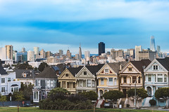 Painted Ladies (CROMEO) Tags: painted ladies houses padres forzosos tv serie sfo california san francisco bay city view lights luces tourism turismo america usa eeuu best cromeo capture full frame nikon pic digital artwork views eye colors world traveller trip cr make