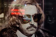 Class War (Gary Kinsman) Tags: redevelopment fujix100t fujifilmx100t 2018 london advert advertising billboard anarchist anarchism sticker defaced politics w1 soho classwar gentrification fuckgentrification walkerscourt sohoestates