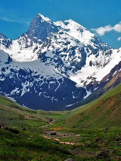 Cerro el Morado,cordillera Andes