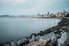 P1230560 (ho_thomas) Tags: agua water praia mar santos litoral longexposure