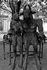 Cotsworlds-1878 (system slave) Tags: cheltenham uk unitedkingdom art bench blackwhite hareandminotaur sculpture