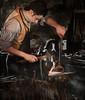 What Have You Wrought? (DaveLawler) Tags: heart heartshaped iron wrought blacksmith blacksmithshop workshop shop metal redhot red man worker craft craftsman affinity osv oldsturbridge sturbridge osvorg valentine valentinesday