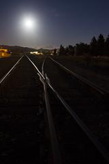 night rails (eb78) Tags: ca california nightphotography longexposure npy railroad traintracks fullmoon