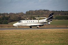 Cessna Citation XLS | G-LXWD (Davidb1988) Tags: cessna citation glxwd luton airport xls ltn eggw aircraft canon eos 1300d flying flight aviation airplane air landing runway jet private