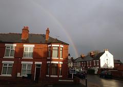2018_01_180004 (Gwydion M. Williams) Tags: rainbow coventry britain greatbritain uk england warwickshire westmidlands chapelfields sirthomaswhitesroad