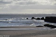 Weather change (Katy Wrathall) Tags: 2018 eastriding eastyokrshire england fraisthorpe january beach coast seaside winter