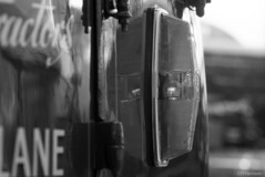 Indicator (pfh2010) Tags: film blackwhite 35mm contax contaxn1 bury transport museum ilford delta 100