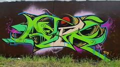 Adik... (colourourcity) Tags: streetartnow streetartaustralia streetart graffiti melbourne burncity awesome colourourcity nofilters melbournestreetart melbournegraffiti adik rg burner