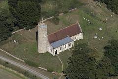 Frostenden All Saints Church - Suffolk UK aerial (John D Fielding) Tags: frostenden church suffolk above aerial nikon d810 hires viewfromplane droneview aerialimage aerialview aerialimagesuk aerialphotograph aerialphotography highresolution hirez hidef highdefinition britainfromtheair britainfromabove