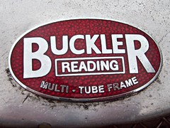 74 Buckler Cars Badge - History (robertknight16) Tags: buckler british reading badge badges automobilia