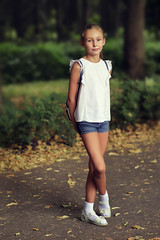 On the walk in the park (Unicorn.mod) Tags: 2017 colors summer alley park tree trees girl outdoor portrait canoneos6d canon samyang85mmf14asifumc samyang samyang85 manual manuallens manualshooting