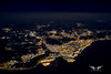 Barcelona at night (gc232) Tags: barcelona night bcn altitude city from above