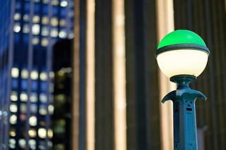 New York City Subway Station Lamp