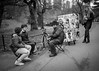 Daily Hustle I (USpecks_Photography) Tags: centralpark nyc newyorkcity manhattan streetartist cartoon sketch tourists streetphotography