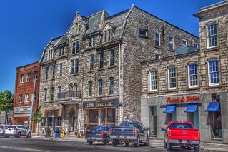 Guelph Ontario -  Canada - 72 MacDonald Street - New Western Hotel - Heritage Building
