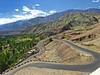 The bend.... (Lopamudra !) Tags: lopamudra lopamudrabarman lopa road landscape himalaya himalayas highaltitude highland ladakh jk india mountain mountains basgo hill highway nature beauty