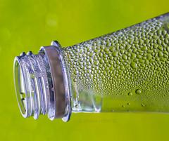 Condensation (Photography by Ali Roberts) Tags: bottle condensation green macro macromondays ©alisonroberts