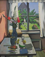 Wolfgang Mattheuer - Sun Window II (detail, 1965) (Elisa1880) Tags: wolfgang mattheuer museum de fundatie zwolle