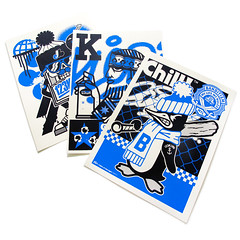 NEW 123klan posters 25$ each (kingscien) Tags: 123klan design poster graffiti mascot vintagedesign vector designprint