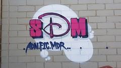 DVATE: 'SDM'... (colourourcity) Tags: streetartaustralia streetartnow streetart graffiti melbourne burncity awesome colourourcity nofilters letters burners burner colourourcitymelbourne dvate dv8 sdm adn mdr f1c f1 disney crewies