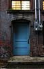 (mo.foto_) Tags: blue door outdoor alley window light bricks electricity meter