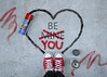 Be You (YetAnotherLisa) Tags: converse looking down atmyfeet red shoes valentine valentines happyvalentines graffiti grafitti paint spraypaint chucks