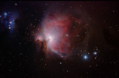 The Orion Nebula (Ggreybeard) Tags: astronomy skywatcher 120edesprit m43 ngc1976 lbn974 ngc1973 ngc1975 ngc1977 runningmannebula iotaorionis struve747 orion astrometrydotnet:id=nova2438079 astrometrydotnet:status=solved zwo nebula